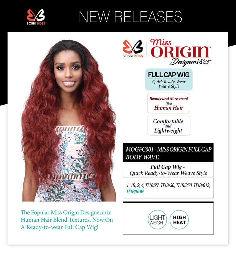 MISS ORIGIN FULL CAP BODY WAVE WIG