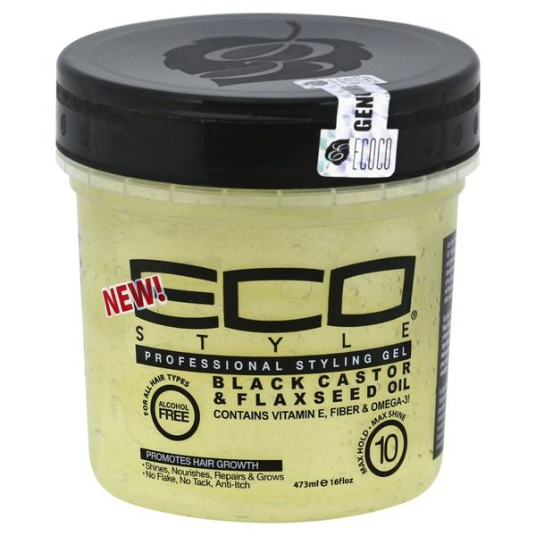 ECO STYLE GEL Black Castor/Flaxseed