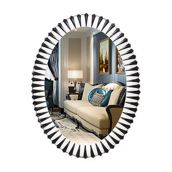 Oval Novelty Mirror for Hotel