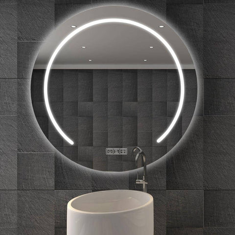 Oval large bathroom Mirror