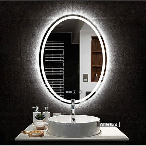 Wall Mounted Smart LED Bathroom Mirror