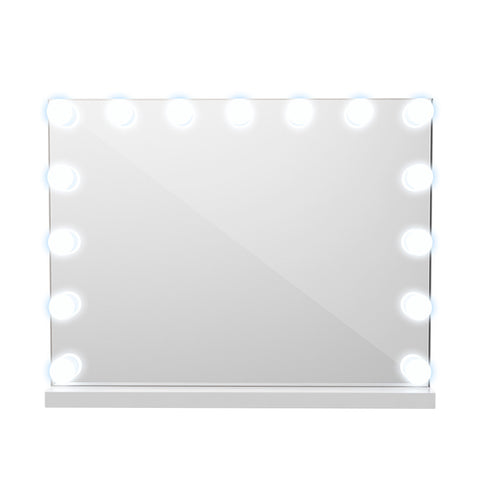 European Style Countertop Hollywood Makeup Mirror with Light