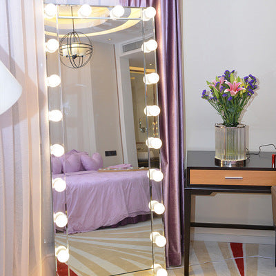 Full Length Hollywood Vanity Mirror with 24 Bulbs