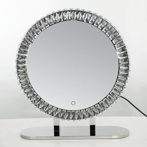 Crystal Makeup Mirror