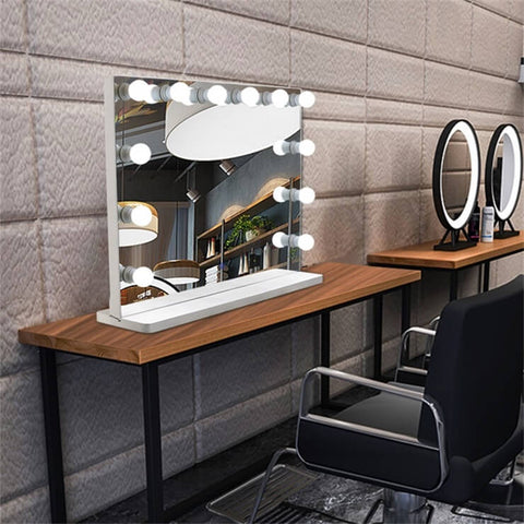 Hollywood Mirrors with Led Bulbs