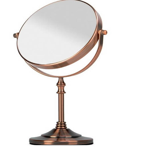 Double Sided Desktop Metal Mirror
