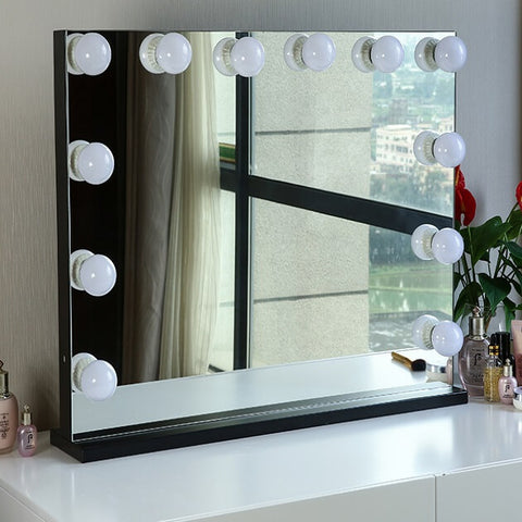 Vanity Mirror with 12 x 3W Dimmable LED Bulbs