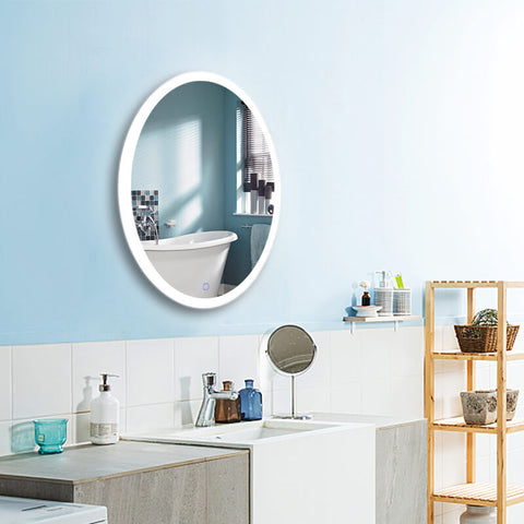 Touch Switch Wall Mounted Mirror