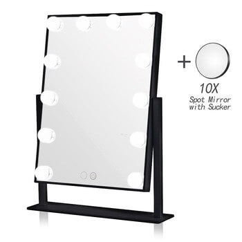 10X Magnifying Black Mirror