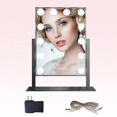 Hollywood Mirror With 12 Led Bulbs