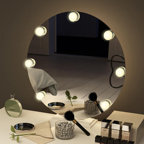 Popular Oval Tabletop Hollywood Mirror