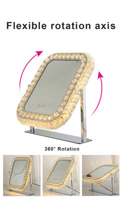 Best Selling Advanced Diamond Frame LED Vanity Mirror for Bathroom