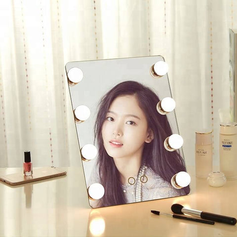 Led Makeup Mirror With Bulb