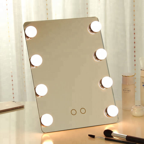 Hollywood Mirror With Led Bulbs