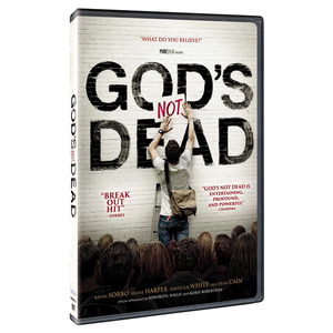 God's Not Dead Movie - DVD