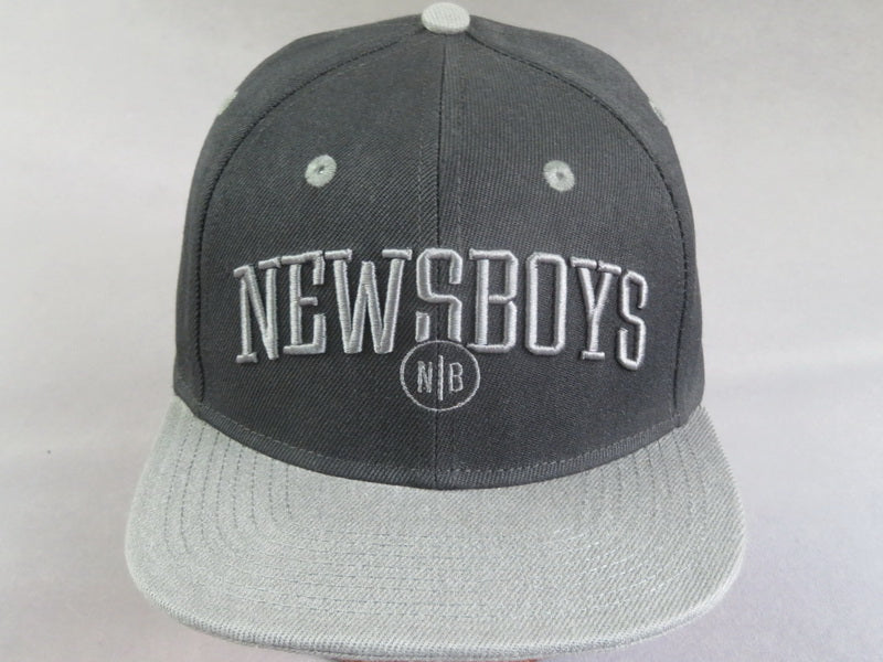 Newsboys Black/Gray cap
