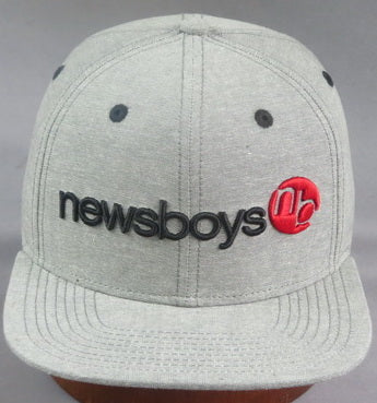 Newsboys heathered gray cap