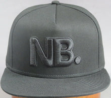 Load image into Gallery viewer, Newsboys NB all black cap
