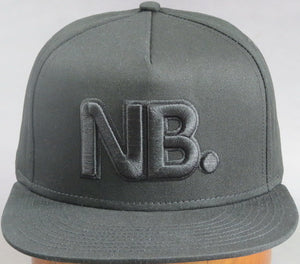 Newsboys NB all black cap