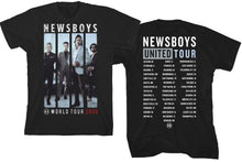 Load image into Gallery viewer, Newsboys United 2020 World Tour T-Shirt