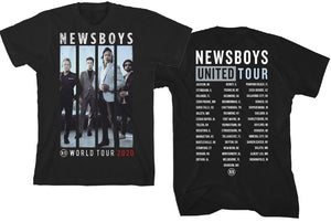 Newsboys United 2020 World Tour T-Shirt