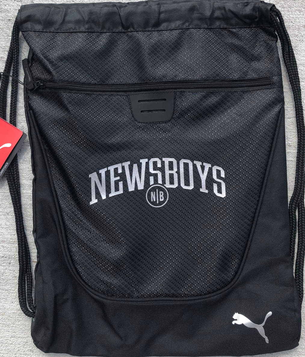 Newsboys carry sack by Puma