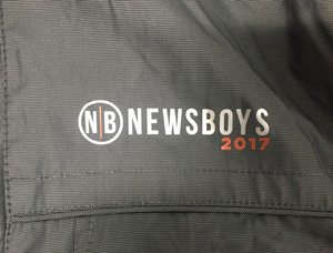 Newsboys official 2017 love riot crew jacket