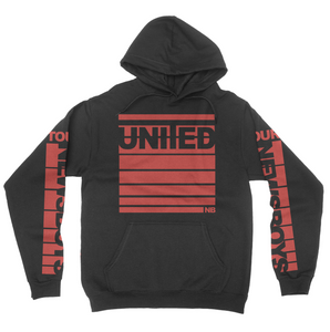 Newsboys United Tour Hoodie - Red Stripe