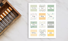 Load image into Gallery viewer, Printable Roller Bottle Labels - The Angela Collection
