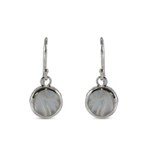 Load image into Gallery viewer, 925 Sterling Silver Earring with Color Shell