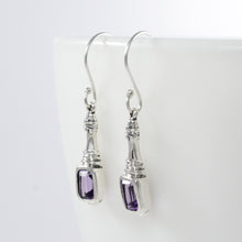 画像をギャラリービューアに読み込む, Life Inspired 925 Sterling Silver Earring with Genuine Gems Stone
