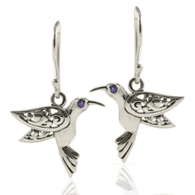 画像をギャラリービューアに読み込む, Flying Bird Filigree Bali Design set in 925 Sterling Silver and Cubic Circonia