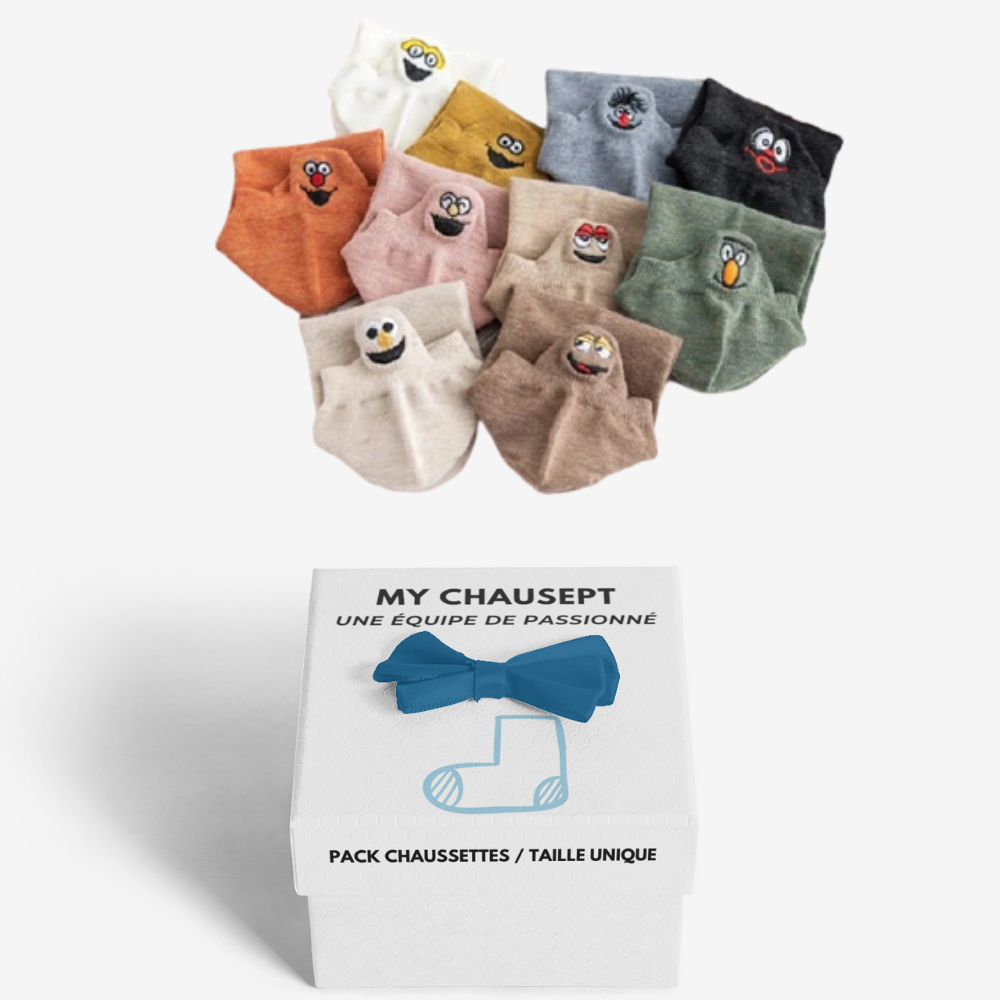 """Buddy"" Pack x3 Socquette - mychausept"