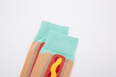 """Hot-dog"" Chaussette"