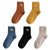 "PACK X5 CHAUSSETTES ""Smiley""- 2"