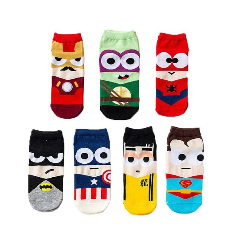 chaussette super hero