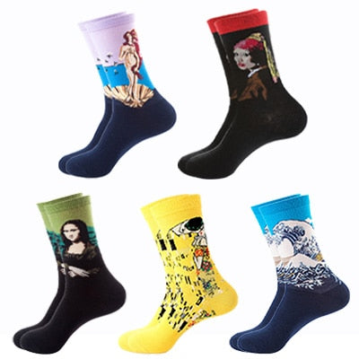 "PACK X5 CHAUSSETTES ""ART"" - 3"