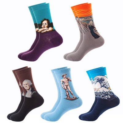 "PACK X5 CHAUSSETTES ""ART"" - 5"