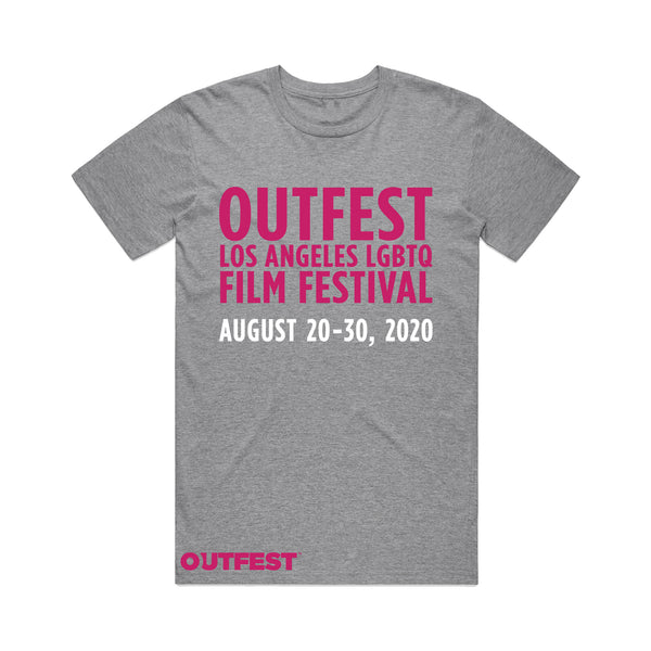 Outfest LA 2020 Tee - Heather Grey