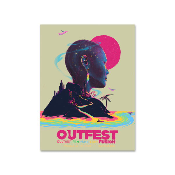"2020 Outfest Fusion Poster - 18"" x 24"""