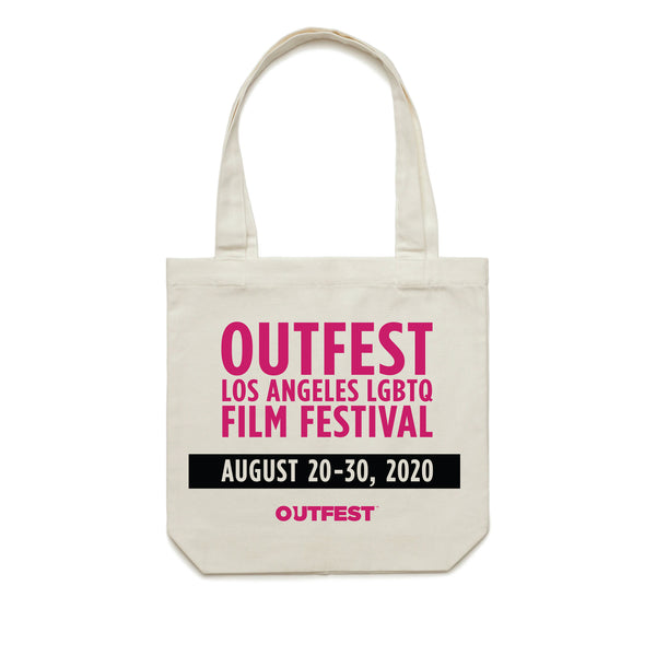 Outfest LA 2020 Tote Bag - Natural