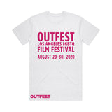 Outfest LA 2020 Tee - Heather White