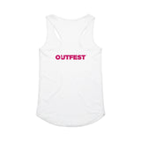 Outfest LA 2020 Racerbank Tank Top - White