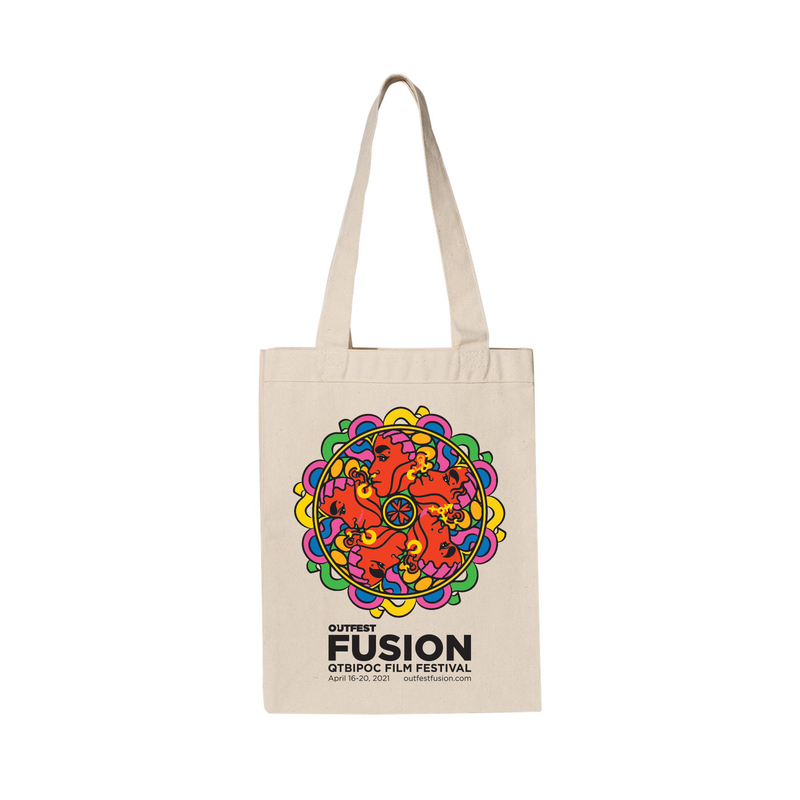 2021 Outfest Fusion Tote Bag - Natural