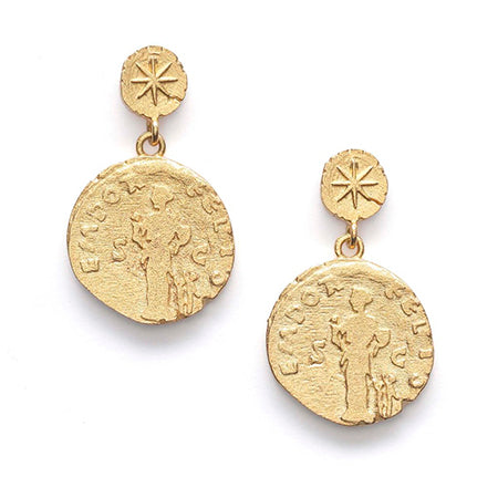 ANNI LU SISTERS COIN EARRINGS