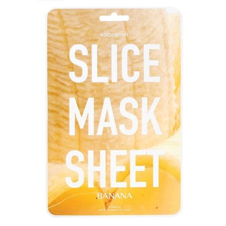 KOCOSTAR Banana Slice Sheet Mask