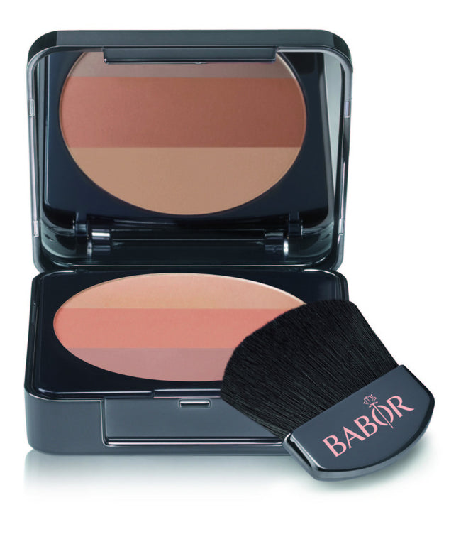 BABOR Face Make up Tri-Colour Blush 01 Bronze