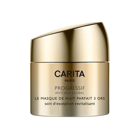 Carita Perfect Trio Of Gold Overnight Mask