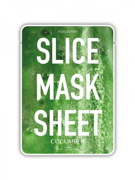 KOCOSTAR Cucumber Slice Sheet Mask