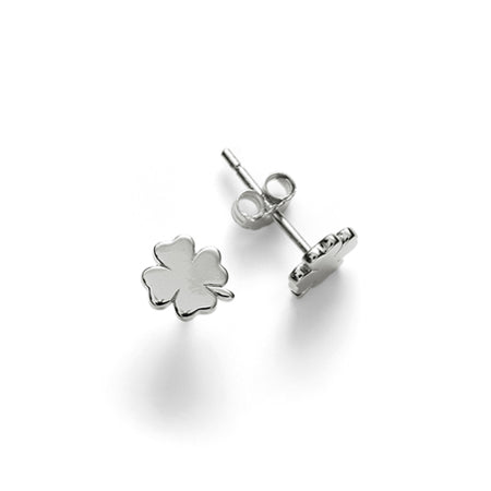 ANNI LU Clover Earrings Silver